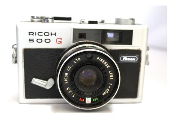 Câmera Fotografica Ricoh 500g Colecionadores Retirada Peça
