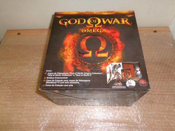God Of War Omega Edição De Colecionador - Ps3