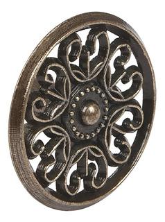 Perilla Latón Antiguo Estilo Colonial Hermex 43817