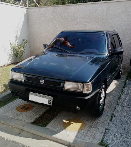 Fiat Uno - 1.0 Fire 8v Gasol - 4p - Verde Perola - Unica Do