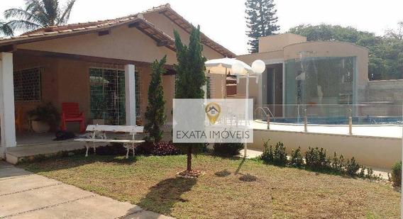Casa Independente, Piscina/quintal, Boca Da Barra/centro, Rio Das Ostras. - Ca0739
