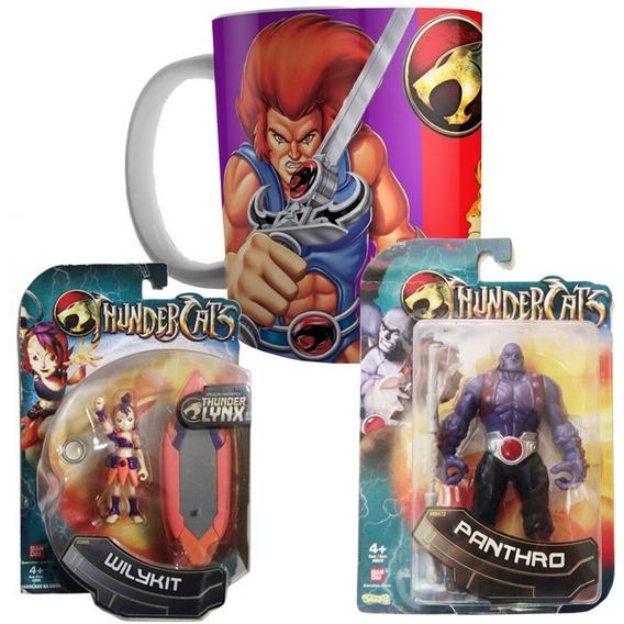Boneco Thundercats E Caneca - Kit 3