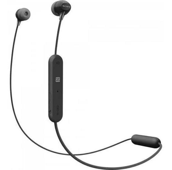 Fone Bluetooth Wi-c300b Preto Sony Original Frete Grátis