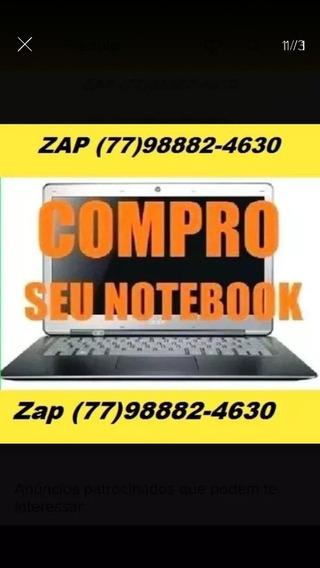 Notebook Com Defeito Compr