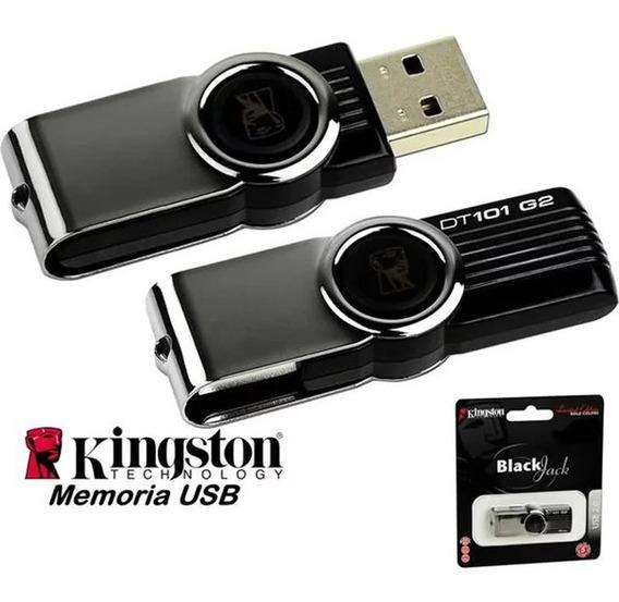 Flashmemory Pendrive Kingston 8gb 16gb 32gb Metalico Y Plast