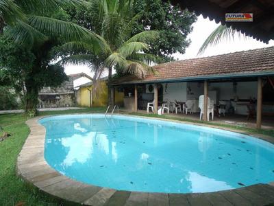 Casa Residencial À Venda, Parque Bitaru, São Vicente - Ca0115. - Ca0115