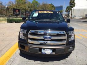 Ford Lobo Lobo Lariat 4x2 Doble Cabina 2017 Seminuevos