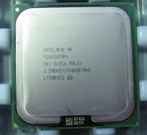 Processador 775 P4 Ht 541