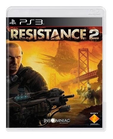 Game Play3 - Resistance 2 - Semi-novo Jogo Ps3
