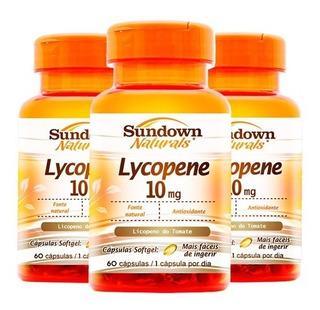 Lycopene Licopeno De Tomate - 3x 60 Cápsulas - Sundown