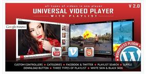 Universal Video Player - Suporta Vídeos Do Youtube, Vimeo