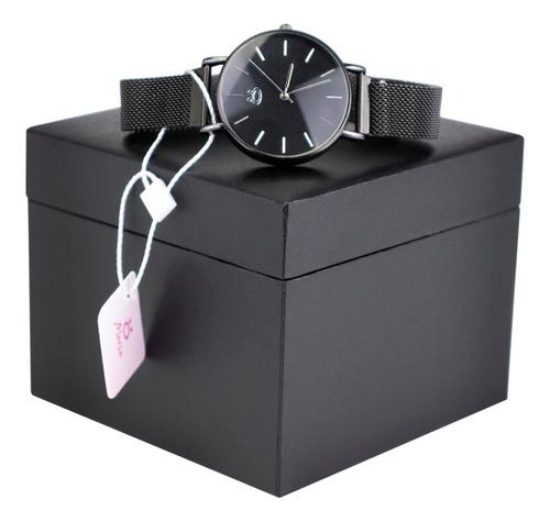 Relógio Feminino Aço Analógico Pulseira Magnética Rmm13