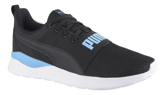Tenis Puma Anzarun Lite Bold - Preto E Azul