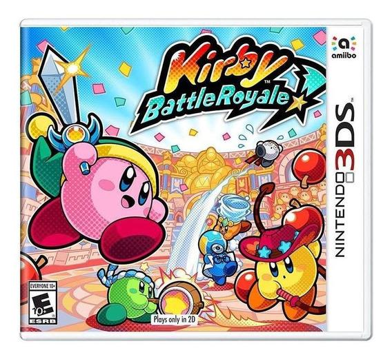 Kirby Battle Royale 3ds Mídia Física Novo Lacrado