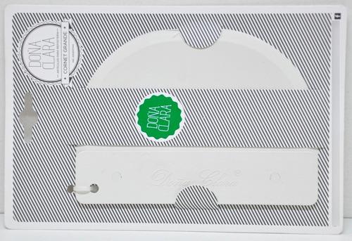 Imagen 1 de 4 de Cornet Grande Doña Clara 15x11cm Plastico