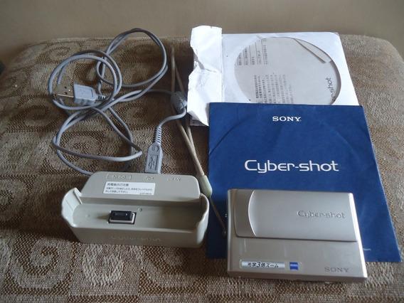 Camera Sony Cibershot Dsc-t1 Colecionadores/retirada De Peça