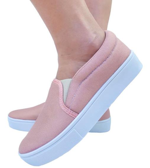 Sapato Feminino Sapatilha Sapatenis Tenis Vinny Casual Preto