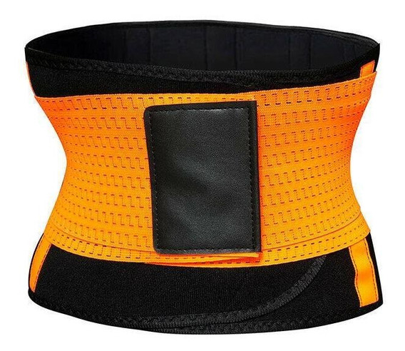 S - Orange - Cinturón Unisex Xtreme Energía Caliente Ad-7967