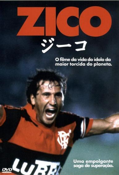 Zico - Dvd - A Saga Do Maior Artilheiro Do Flamengo