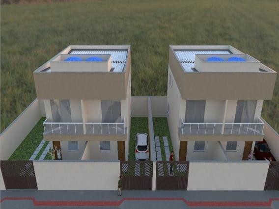 Jacaraipe, Bairro São Francisco, Casa Duplex Com 75 M², 2 Quartos Com Suíte, Quintal Grande E Individualizado, Com Excelente Acabamento. - Ca00332 - 34939147
