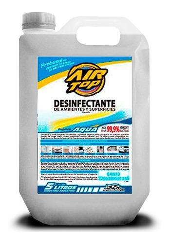 Imagen 1 de 3 de Desinfectante Liquido Aqua 5lts