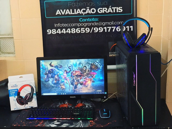 Pc Completo Topado Para Games