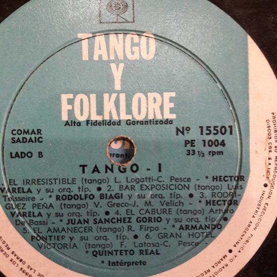 Sin Tapa Disco Tango Y Folklore 1 Quinteto Real Milena