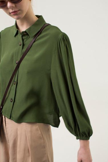 Camisa Atria Verde Las Pepas