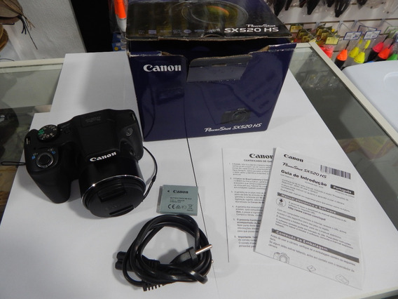 Camera Semi Profissional Canon Powershot Sx520 Hs