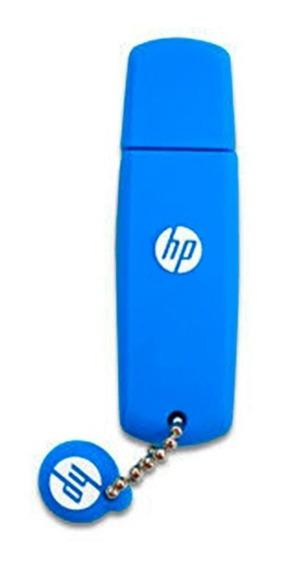 Hp Pen Drive 16gb V188 Azul Goma Hpfd
