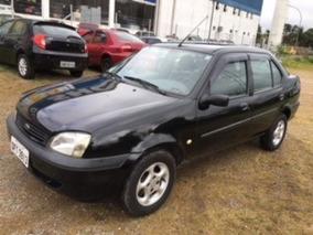 Ford Fiesta Sedan 1.0 Street 4p - 2002 - Dir+vidr+trav+alarm