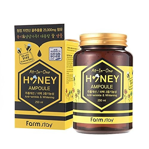 Farm Stay All In One Honey Ampoule 250ml,propolis,royal Jell