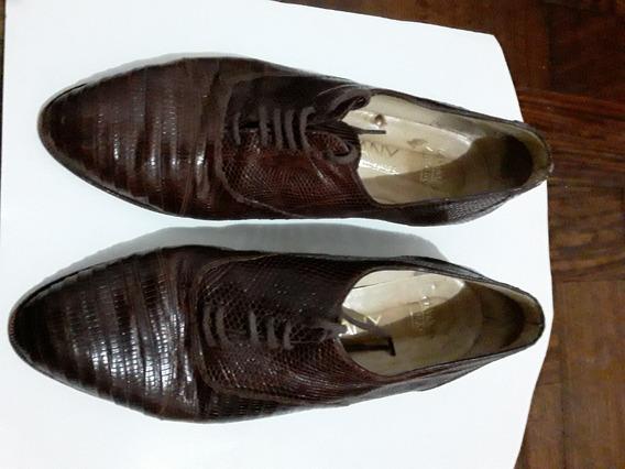Zapatos Sarkany 39 Cosidos A Mano