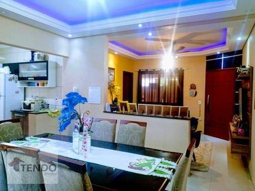 Imagem 1 de 19 de Casa Com 3 Dormitórios À Venda, 126 M² Por R$ 375.000,00 - Jardim Dos Colibris - Indaiatuba/sp - Ca0438