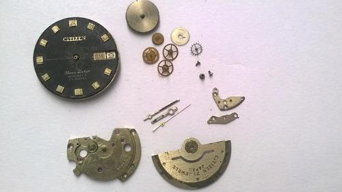 Reloj Citizen 7270 Automático Incompleto Para Armar/repuesto