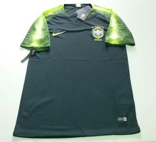 Camisa Seleção Brasil - Treino - Entrega Grátis