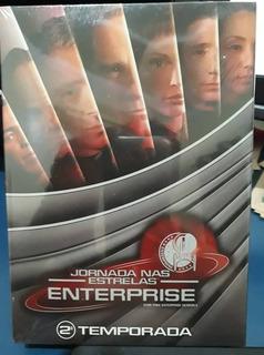 Box Jornada Nas Estrelas Enterprise 2 Segunda Temp Lacrado