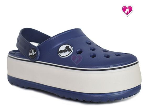 Zueco De Goma Plataforma Moda Juvenil Harenna Shoes Bayres