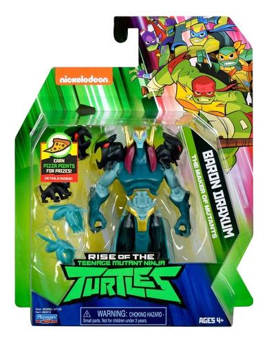 Imagen 1 de 7 de Figura Baron Draxum Tortugas Ninja Articulada Original