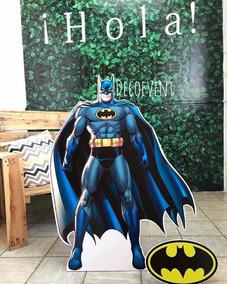 Batman Decorativo Para Fiestas Infantiles En 1 Metro Y 30 Cm