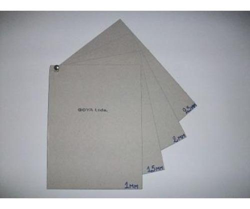 Cartón Gris Extra Liso 70 X 100 2,5 Mm.