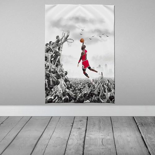 Imagem 1 de 3 de Stompy Bandeira Decorativa Decoração Jordan Basket Bulls