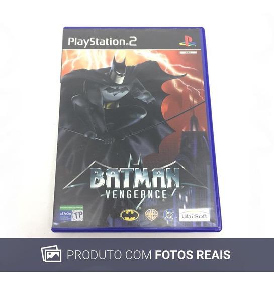 Batman: Vengeance Ps2 Usado Apenas Capinha