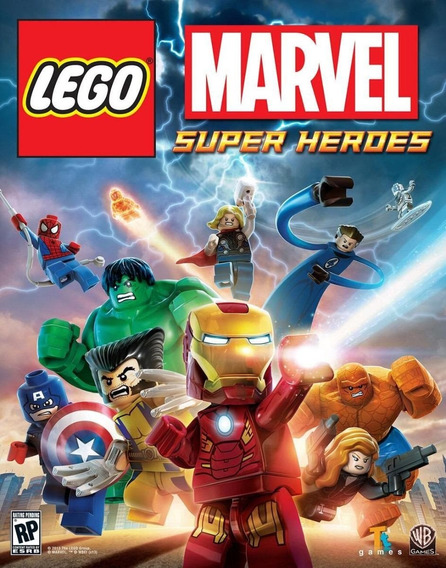 Lego Marvel Super Heroes - Playstation 3 - Instale Já