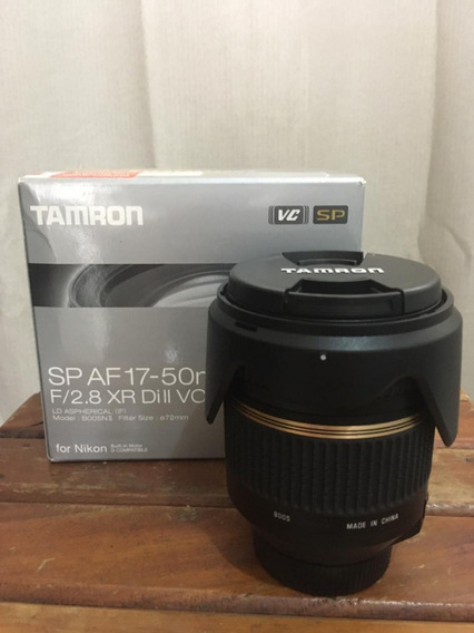 Lente Tamron 17-50mm F/2.8 Xr Di Ii Vc (para Nikon)