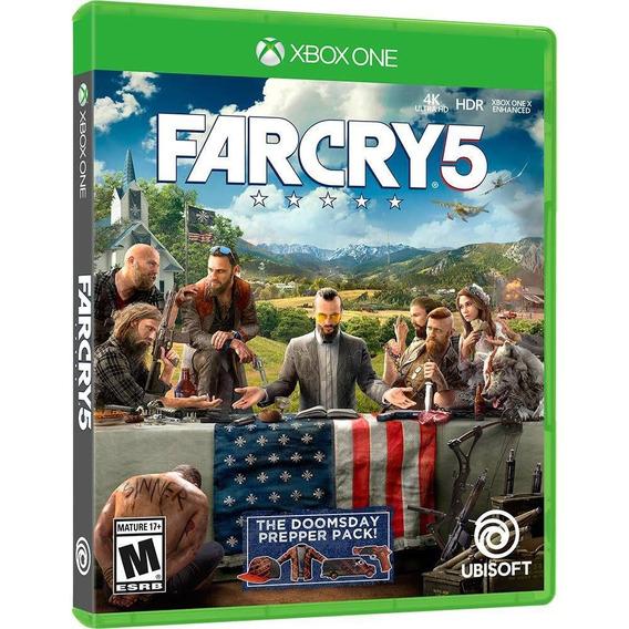Far Cry 5 Xbox One Original Midia Fisica Nacional Português