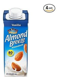 Almond Breeze Lácteos Leche De Almendra Gratuito, De Vainill
