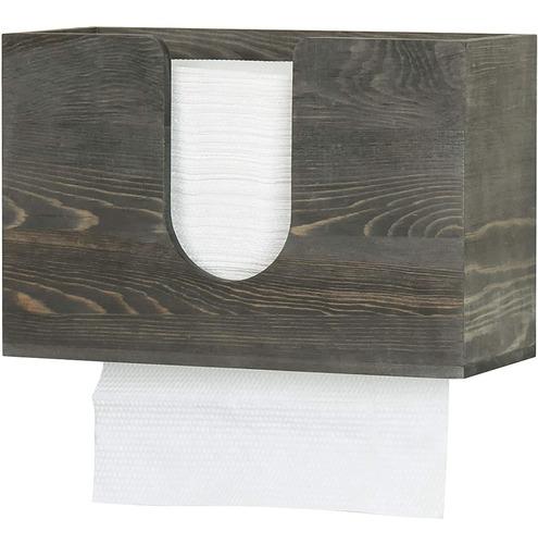 Mygift - Dispensador De Toallas De Papel Para Baño, Diseño