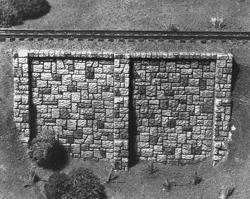 Muro De Arrimo Maquetes 1/87 (ho) 2pcs. Paiolmodelismo
