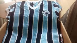 Camisa Grêmio Rs, Malha Furadinha, Gg, 1973, Retrô, Nova!!!